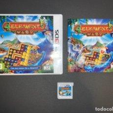Videojuegos y Consolas: VIDEOJUEGO NINTENDO 3DS 4 ELEMENTS COMPLETO CON CAJA PAL. Lote 231659515