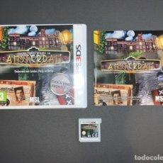Videojuegos y Consolas: VIDEOJUEGO NINTENDO 3DS SECRET MYSTERIES IN AMSTERDAM COMPLETO CON CAJA PAL. Lote 231659545