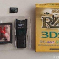 Videojuegos y Consolas: JUEGO DE NINTENDO 3DS , R4 REVOLUTION FOR 3DS, CON TARJETA DE MEMORIA 4 GB , EN CAJA. Lote 233413045