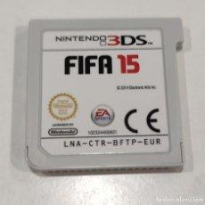 Videojuegos y Consolas: JUEGO DE CONSOLA NINTENDO 3DS , FIFA 15. Lote 234378275