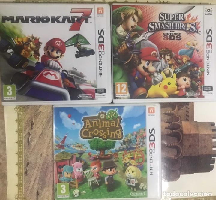 Videojuegos y Consolas: LOTE 4 CAJAS VACIAS NINTENDO 3DS - 3 INCLUYEN LIBRETO MARIO KART ANIMAL CROSSING SUPER SMASH SEASONS - Foto 2 - 234513655