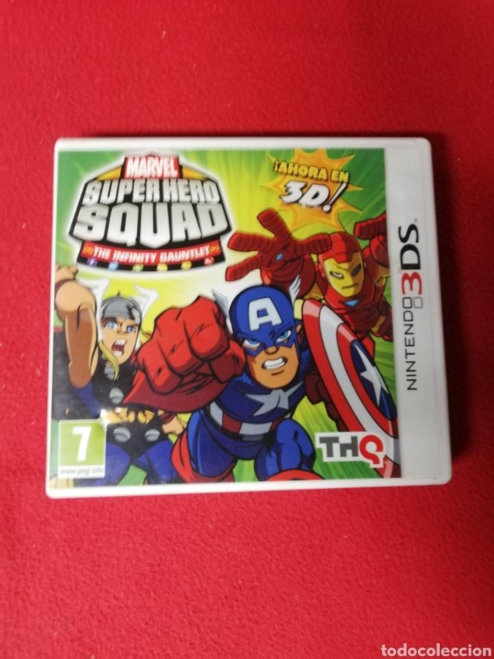 SUPER HERO SQUAD (Juguetes - Videojuegos y Consolas - Nintendo - 3DS)