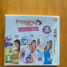 Videojuegos y Consolas: IMAGINA SER COLECCIÓN (3 JUEGOS), NINTENDO 3DS PAL ESPAÑA NUEVO PRECINTADO. Lote 235531995
