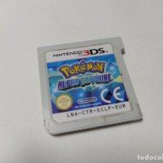Jeux Vidéo et Consoles: POKEMON ALPHA ZAFIRO ( SOLO CARTUCHO )( NINTENDO 3DS - PAL - ESP). Lote 236617860