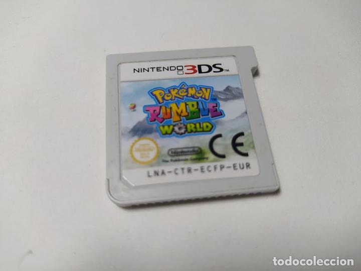 POKEMON RUMBLE WORLD ( SOLO CARTUCHO )( NINTENDO 3DS - PAL - ESP) (Juguetes - Videojuegos y Consolas - Nintendo - 3DS)