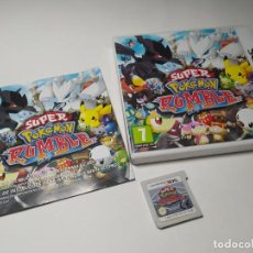 Videojogos e Consolas: SUPER POKEMON RUMBLE ( FALLA MUCHAS VECES !! ) ( NINTENDO 3DS - PAL - ESP) **. Lote 236618215