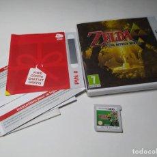 Videojogos e Consolas: ZELDA A LINK BETWEEN WORLDS ( NINTENDO 3DS - PAL - ESP). Lote 236618520
