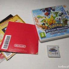 Videojogos e Consolas: POKEMON MYSTERY DUNGEON GATES TO INFINITY ( NINTENDO 3DS - PAL - ESP). Lote 236618635