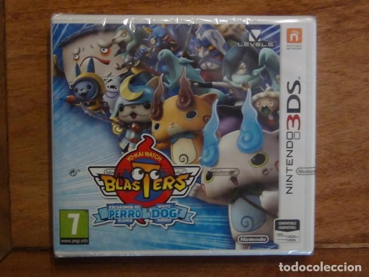 JUEGO YO-KAI WATCH BLASTERS ESCUADRÓN PERRO BLANCO PARA NINTENDO 3DS (Juguetes - Videojuegos y Consolas - Nintendo - 3DS)