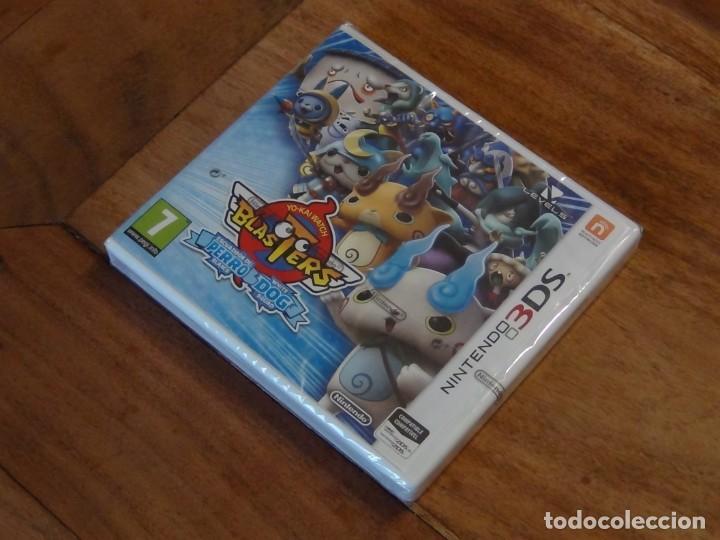 Videojuegos y Consolas: Juego Yo-Kai Watch Blasters Escuadrón Perro Blanco para Nintendo 3DS - Foto 2 - 238829645