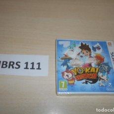 Videojuegos y Consolas: 3DS - YO-KAI WATCH , PAL ESPAÑOL , PRECINTADO. Lote 239821600