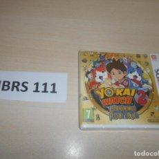 Videojuegos y Consolas: 3DS - YO-KAI WATCH 2 - CARNAMINAS , PAL ESPAÑOL , PRECINTADO. Lote 239821880