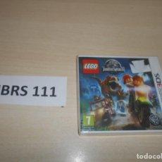 Videojuegos y Consolas: 3DS - LEGO JURASSIC WORLD , PAL ESPAÑOL , PRECINTADO. Lote 239822050