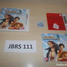 Videojuegos y Consolas: 3DS - ONE PIECE ROMANCE DOWN , PAL ESPAÑOL , COMPLETO. Lote 239822530