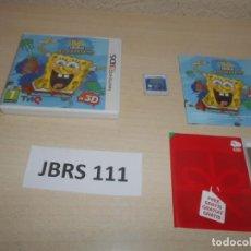 Videojuegos y Consolas: 3DS - BOB ESPONJA , EL GARABATO , PAL ESPAÑOL , COMPLETO. Lote 239823425