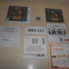 Videojuegos y Consolas: 3DS - PROFESOR LAYTON - EL MISTERIOSO VIAJE DE LAYTON , PAL ESPAÑOL , COMPLETO. Lote 239823850