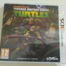 Videojuegos y Consolas: NINTENDO 3DS JUEGO TEENAGE MUTANT NINJA TURTLES NUEVO. Lote 243296915