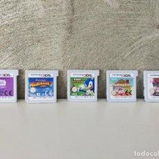Videojuegos y Consolas: LOTE JUEGOS NINTENDO 3DS SONIC MADAGASCAR ANIMAL CROSSING. Lote 245909080