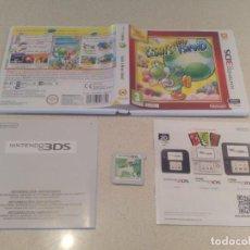 Videojuegos y Consolas: YOSHI'S NEW ISLAND 3DS NINTENDO N3DS PAL-ESPAÑA. Lote 246214095