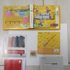 Videojuegos y Consolas: NEW SUPER MARIO BROS 2 NINTENDO 3DS N3DS COMPLETO PAL-ESPAÑA. Lote 247666470
