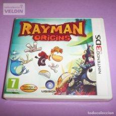 Videojuegos y Consolas: RAYMAN ORIGINS NUEVO Y PRECINTADO PAL ESPAÑA NINTENDO 3DS. Lote 252765855