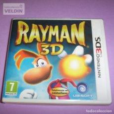 Videojuegos y Consolas: RAYMAN 3D NUEVO Y PRECINTADO PAL ESPAÑA NINTENDO 3DS. Lote 252766355