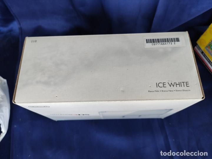 Videojuegos y Consolas: Nintendo 3DS ICE White Nueva A Estrenar New Sealed blanco polar. - Foto 2 - 252839005