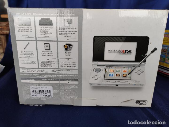 Videojuegos y Consolas: Nintendo 3DS ICE White Nueva A Estrenar New Sealed blanco polar. - Foto 4 - 252839005