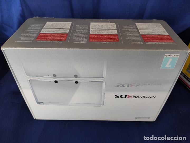 Videojuegos y Consolas: Nintendo 3DS ICE White Nueva A Estrenar New Sealed blanco polar. - Foto 8 - 252839005