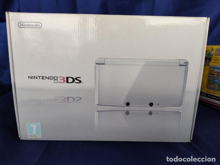 NINTENDO 3DS ICE WHITE NUEVA A ESTRENAR NEW SEALED BLANCO POLAR. (Juguetes - Videojuegos y Consolas - Nintendo - 3DS)