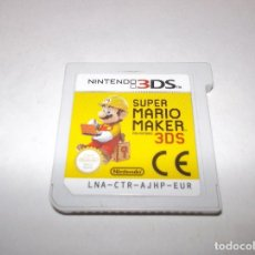 Videojuegos y Consolas: 3DS SUPER MARIO MAKER NINTENDO PAL. SOLO JUEGO. Lote 254024770