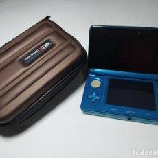 Videojuegos y Consolas: CONSOLA NINTENDO 3DS - AQUA - + CARGADOR Y FUNDA. Lote 254793700