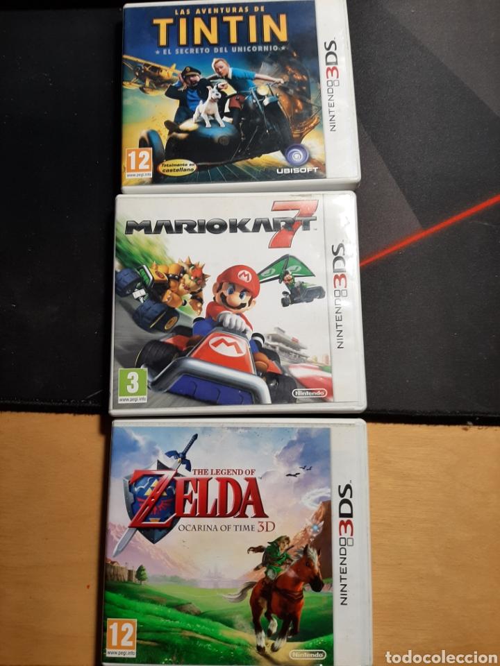 CAJAS VACÍAS NINTENDI 3DS. (Juguetes - Videojuegos y Consolas - Nintendo - 3DS)