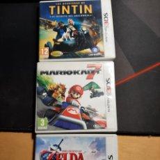 Videojuegos y Consolas: CAJAS VACÍAS NINTENDI 3DS.. Lote 255574050
