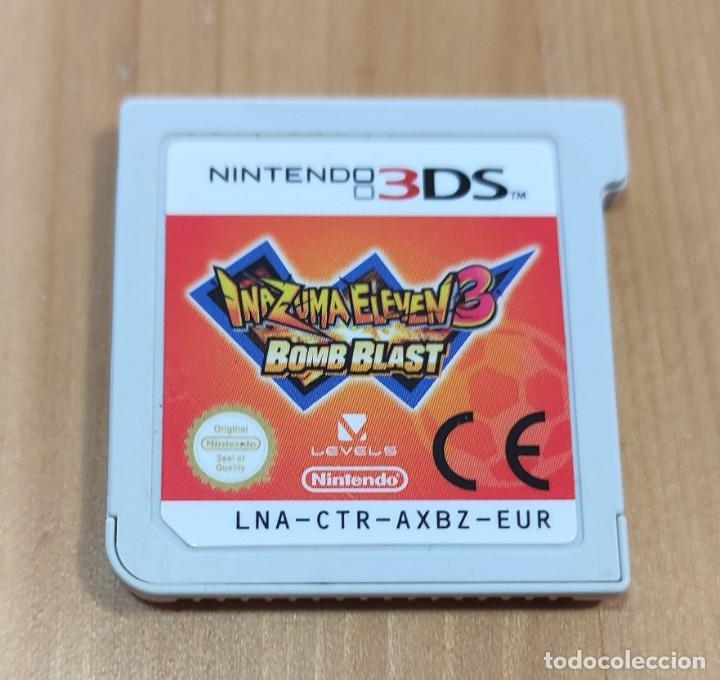 JUEGO DE CONSOLA NINTENDO 3DS , INAZUMA ELEVEN 3 BOMB BLAST (Juguetes - Videojuegos y Consolas - Nintendo - 3DS)