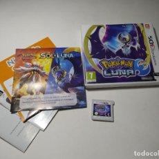 Videogiochi e Consoli: POKEMON LUNA ( NINTENDO 2DS - 3DS - PAL - ESPAÑA). Lote 259014930