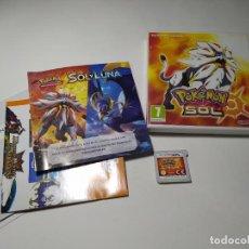 Videogiochi e Consoli: POKEMON SOL ( NINTENDO 2DS - 3DS - PAL - ESPAÑA). Lote 259016195