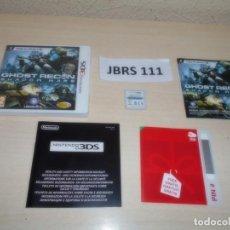 Videojuegos y Consolas: 3DS - GHOST RECON - SHADOW WARS , PAL ESPAÑOL , COMPLETO. Lote 262621955