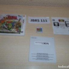 Videojuegos y Consolas: 3DS - THE LEGEND OF ZELDA - TRI FORCE HEROES , PAL ESPAÑOL , COMPLETO. Lote 262622410