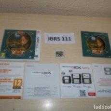 Videojuegos y Consolas: 3DS - EL MISTERIOSO VIAJE DE LAYTON , PAL ESPAÑOL , COMPLETO. Lote 262622560