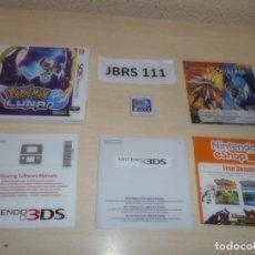 Videojuegos y Consolas: 3DS - POKEMON LUNA , PAL ESPAÑOL , COMPLETO. Lote 262622675