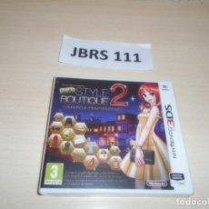 Videojuegos y Consolas: 3DS - NEW STYLE BOUTIQUE 2 , PAL ESPAÑOL , PRECINTADO. Lote 262625060