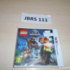 Videojuegos y Consolas: 3DS - LEGO JURASSIC WORLD , PAL ESPAÑOL , PRECINTADO. Lote 262625170