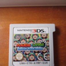 Videojuegos y Consolas: MARIO & LUIGI DREAM TEAM BROS (NINTENDO 3DS) (CARATULA REPRODUCCION). Lote 262823525