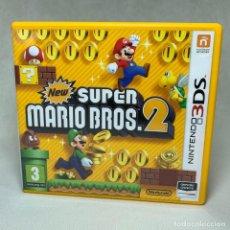 Videojuegos y Consolas: VIDEOJUEGO NINTENDO 3DS - NEW SUPER MARIO BROS 2 + INSTRUCCIONES NINTENDO + CAJA - EUR. Lote 262882625