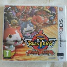 Videojuegos y Consolas: NINTENDO 3DS JO-KAI WATCH LA LIGA DEL GATO ROJO NUEVO. Lote 263055025