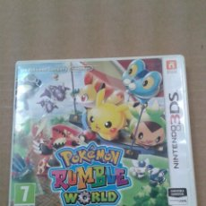 Videojuegos y Consolas: POKEMON RUMBLE WORLD. NINTENDO 3DS. Lote 267595639