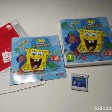 Videojuegos y Consolas: BOB ESPONJA - EL GARABATO ( NINTENDO DS - PAL - ESP). Lote 268878429