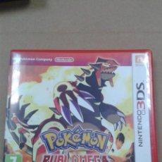 Videojuegos y Consolas: POKEMON RUBI OMEGA. NINTENDO 3DS. Lote 268881639