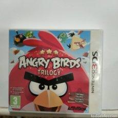 Videojuegos y Consolas: REF3DS.12 ANGRY BIRD TRILOGY JUEGO NINTEDO 3DS SEGUNDAMANO. Lote 269100743